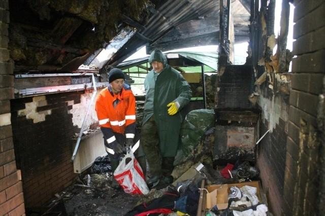 Barkowicze stracili w pożarze nie tylko swoje rzeczy, ale przede wszystkim dom. Teraz chcą go odbudować. Potrzebują wsparcia.