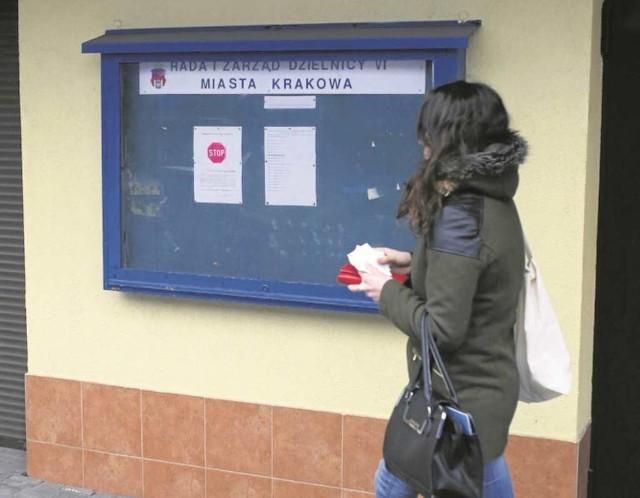 Informacje na tablicy przy pętli Bronowice Małe są nieaktualne...