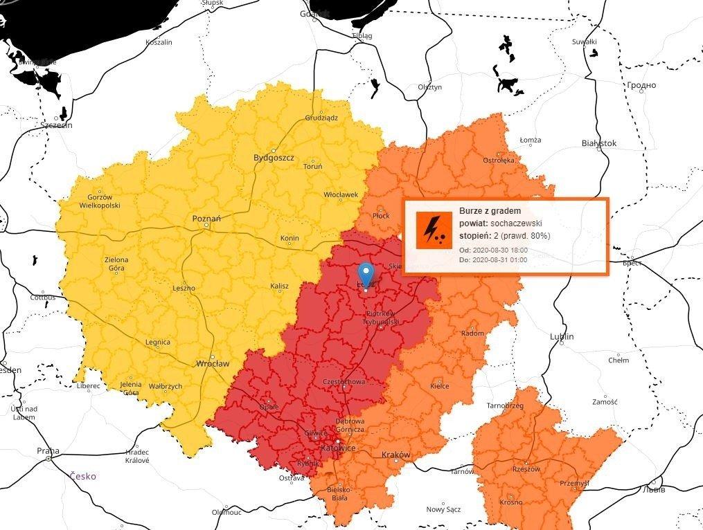Pogoda w niedzielę: Potężne burze nad Polską! IMGW ostrzega! Zobacz, o której się zaczną nawałnice. MAPA BURZOWA, RADAR OPADÓW | Express Ilustrowany