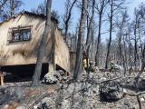 Dolnośląscy strażacy wracają z Grecji. Zdjęcia spustoszonego pożarami kraju budzą grozę [ZOBACZ ZDJĘCIA]