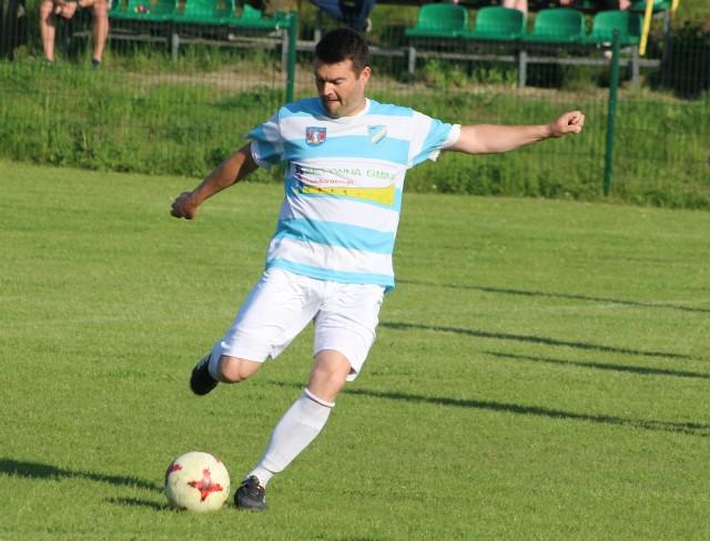 Trenerem Błękitnych Modlnica jest Krzysztof Szumiec