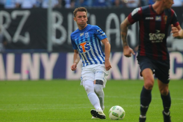 Majewski strzelił dla Kolejorza trzy gole i zaliczył asysty