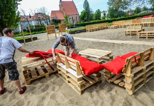 Dziś otwarcie nowej plaży miejskiej w Bydgoszczy.
