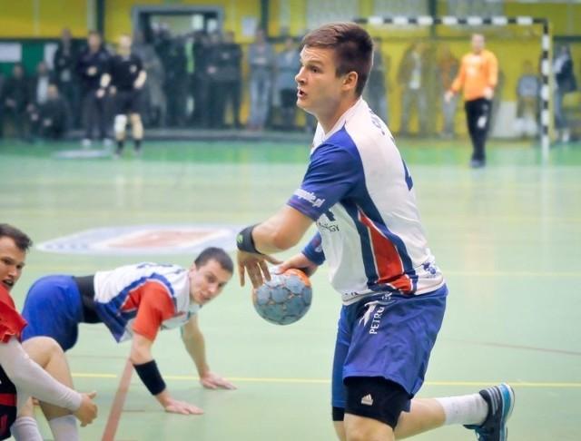 Skrzydłowy Gwardii Paweł Swat, to wychowanek klubu z Końskich.