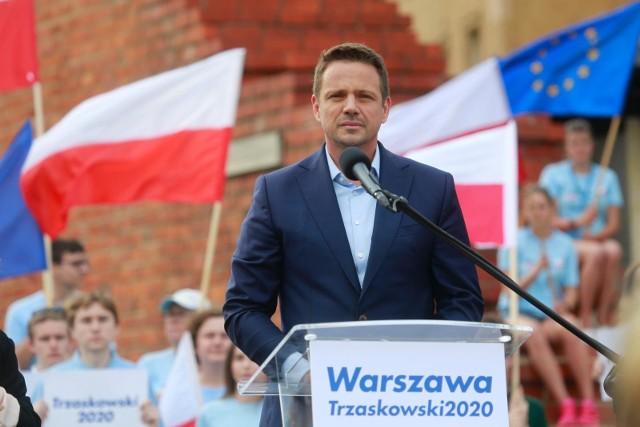 W czasie debaty mediów publicznych Rafał Trzaskowski spotkał się z mieszkańcami Leszna. O czym rozmawiali?