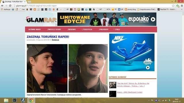 Poszukiwany Marcin Tchorzewskistrona www.glamrap
