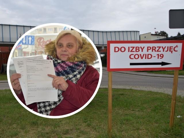 Bożena Panowicz chciała, aby władze szpitala w Grudziądzu wyjaśniły dlaczego, ona-grudziądzanka nie została przyjęta do oddziału zakaźnego mimo zachorowania na covid i zapalenie płuc. Niestety szpital nie chce odnieść się do tej historii. Finalnie pomoc 61-latka uzyskała w Golubiu - Dobrzyniu, szpitalu oddalonym od grudziądzkiego o ok. 60 km...