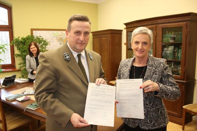 Umowa między miastem a nadleśnictwem została podpisana.