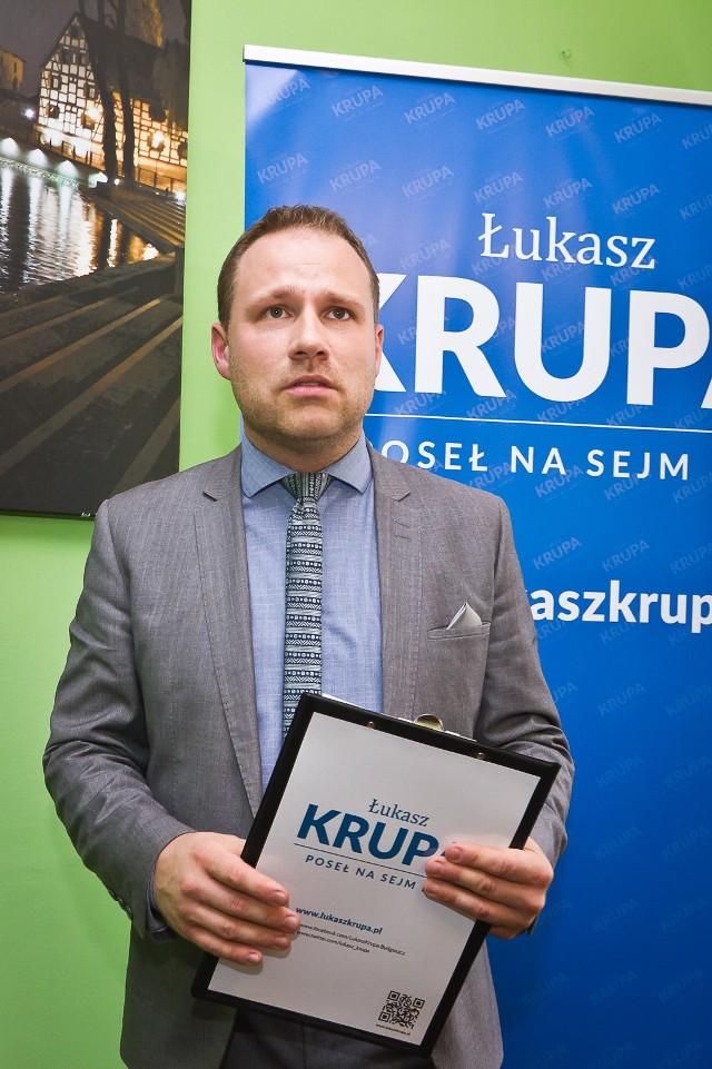 Łukasz Krupa obejmie stanowisko dyrektora biura promocji miasta bydgoskiego ratusza 26 marca.