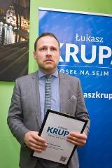 Łukasz Krupa, były poseł będzie szefem biura promocji miasta bydgoskiego ratusza