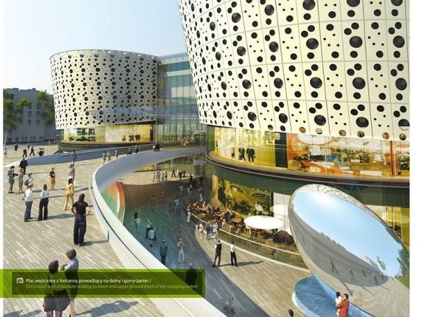 Tak będzie wyglądała galeria Korona w Kielcach, która będzie jedną z największych w Polsce.