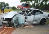 Wypadek w Karbowie w powiecie brodnickim. Jedna osoba w szpitalu