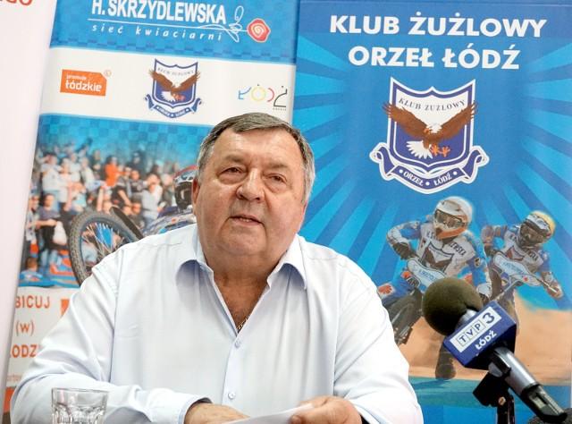 Prezes Witold Skrzydlewski będzie opowiadał o sytuacji w polskim, łódzkim i międzynarodowym żużlu
