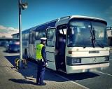 Policjanci kontrolowali autobusy. Zobacz, ile wykroczeń ujawnili