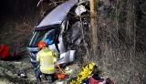Stary Sącz. Tragedia na drodze krajowej nr 87. Zginęły dwie młode kobiety. Trzy osoby walczą o życie