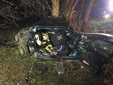 Wypadek nastolatków w Pobiedziskach - nie żyje 18-latek [ZDJĘCIA]
