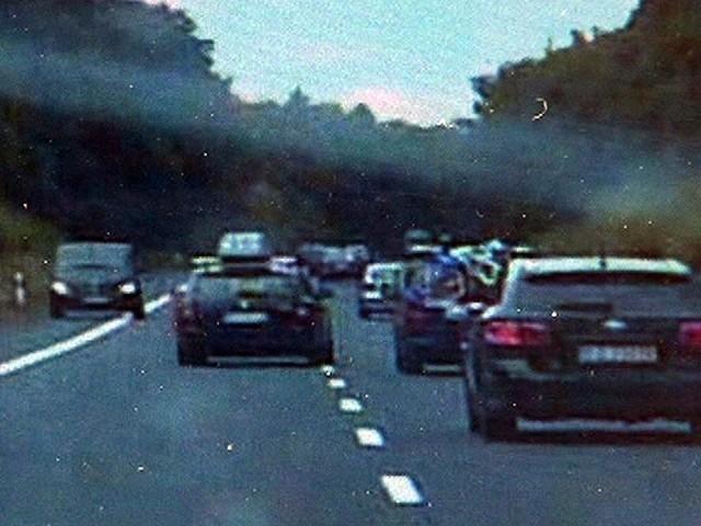 Kierowca skody wyprzedzając stworzył zagrożenie na drodze
