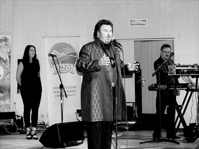 Krzysztof Krawczyk występował podczas gali organizowanych przez Koalicję Marek Ziem Górskich.