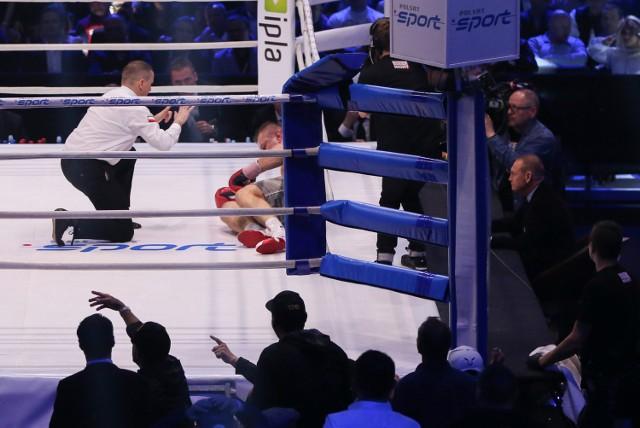 Walka Adamek Molina. Sędzią w ringu był Leszek Jankowiak.
