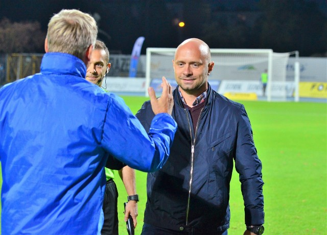 Trener Artur Skowronek nie ma ostatnio dobrej passy. Jego PGE Stal Mielec ostatnie zwycięstwo odniosła w sierpniu