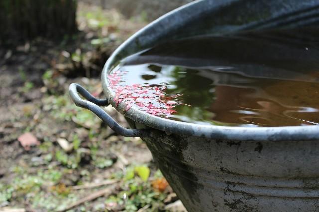 """Program """"Moja Woda"""" umożliwia uzyskanie środków m.in.na zakup zbiorników gromadzących deszczówkę."""