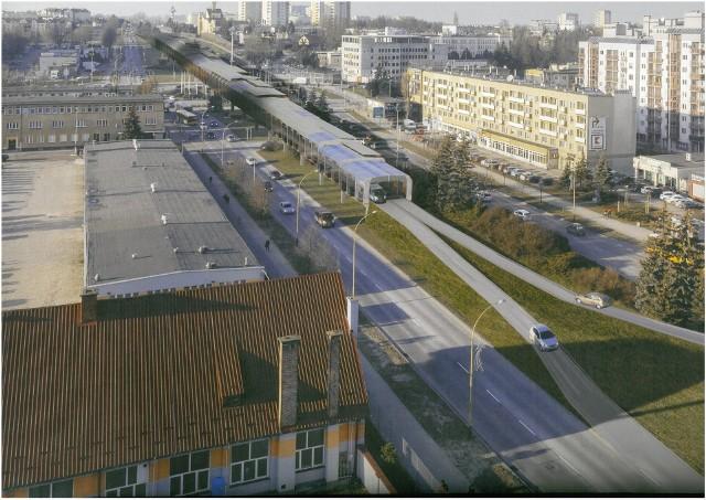Tam ma wyglądać wiadukt u zbiegu ulicy Krakowskiej i Witosa.