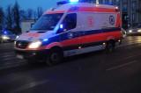 Wypadek w Popówku. Pięć osób w tym dwoje dzieci trafiło do szpitala