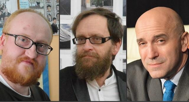 Trzy czwarte składu zespołu Chłodnego Gaik: Michał Chłodnicki, Wojciech Kozłowski, Artur Beling.