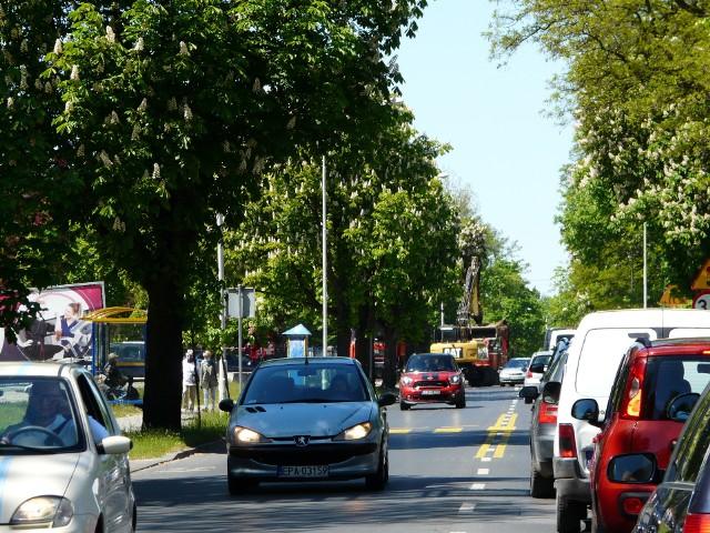 Kolejny odcinek ul. Grota Roweckiego zyska drogę rowerową