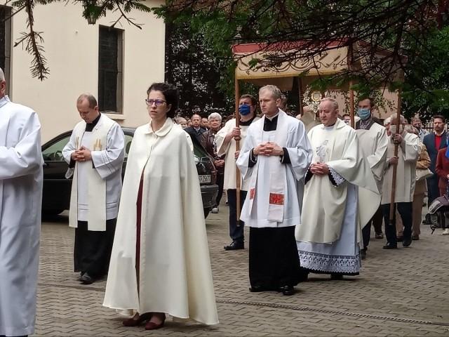 Boże Ciało w Starogardzie Gdańskim