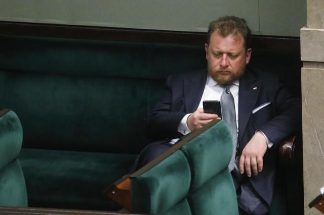 Minister zdrowia Łukasz Szumowski w Sejmie