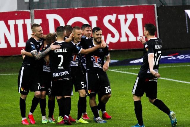 Mecz Cracovia - Jagiellonia Białystok