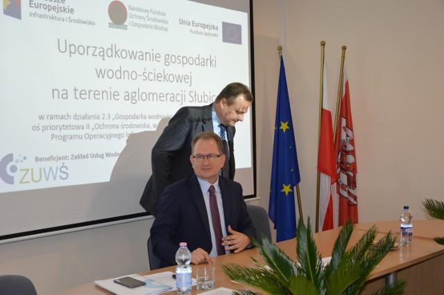 Kazimierz Góra, prezes ZUWŚ w Słubicach cieszy się, że ZUŚW dostanie dofinansowanie projektu.