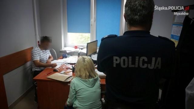 Oszustkę z Katowic zatrzymali policjanci z Myszkowa
