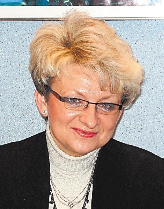 Ewa Szkic-Czech, dyrektor Urzędu Statystycznego w Opolu.