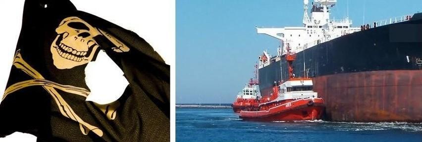 Po prawej: typ tankowca - chemikaliowiec. Piraci porwali podobny statek Bow Asir, na którym znajduje się marynarz z okolic Słupska.