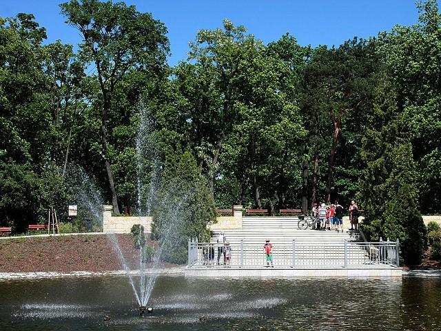 Zwiedzanie z przewodnikiem Parku w Grudziądzu