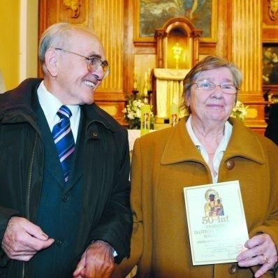 Obchody jubileuszowe rozpoczęły się mszą św. Później państwo Osiccy świętowali w gronie rodziny i przyjaciół.