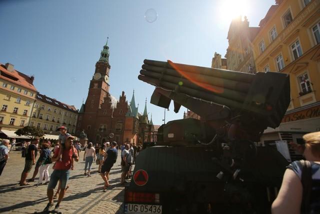 Święto Wojska Polskiego we wrocławskim Rynku - 15.08.2019