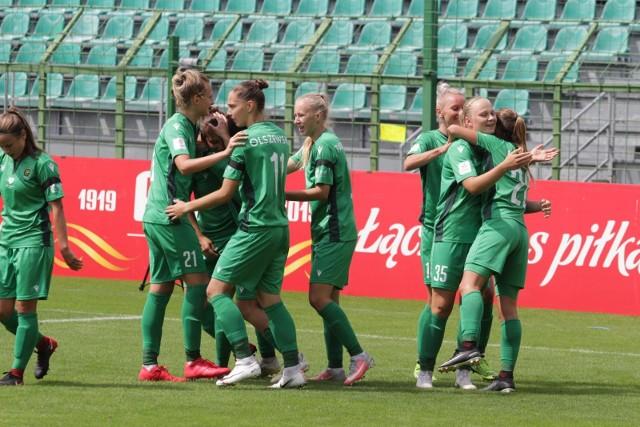 Piłkarki GKS-u Katowice w drugiej połowie cieszyły się z prowadzenia, ale straciły go w ostatniej akcji meczu