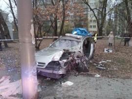 Koszmarny wypadek taksówki na Limanowskiego! W aucie 4 osoby