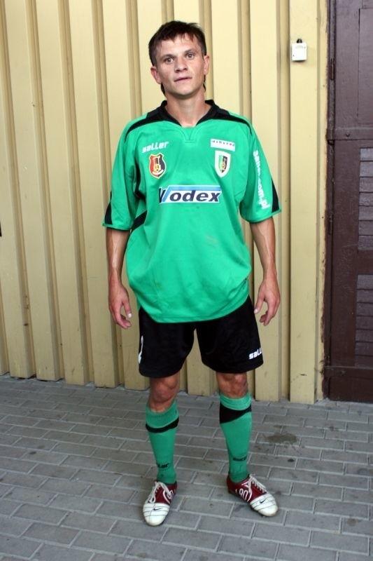 Jurij Michalczuk zdobył honorowego gola dla Stali w meczu z Dolcanem.