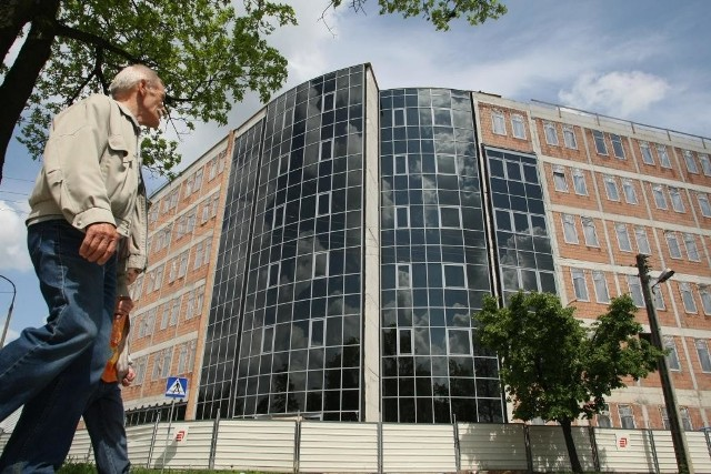 Budowa nowej siedziby II Urzędu Skarbowego w Kielcach zakończy się w przyszłym roku. Fot. D. Łukasik