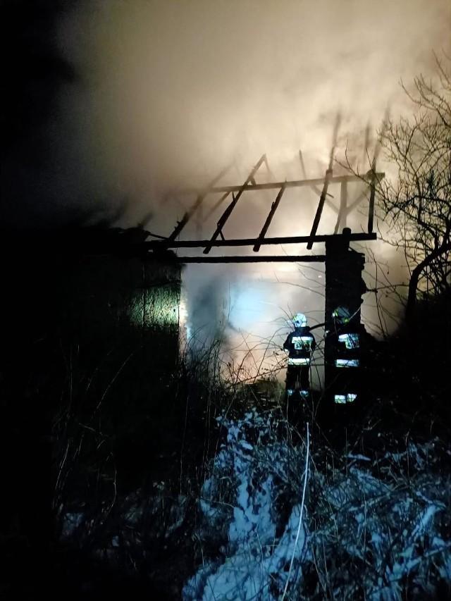 Pożar w Wierzbiu.