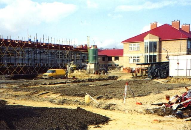 Budowa największej w Szydłowcu szkoły