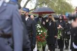 Pogrzeb policjanta w Raciborzu. Michał Kędzierski tragicznie zginął z rąk przestępcy