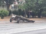 Spłoszony koń wpadł pod nadjeżdżającego busa. Ale to nie wszystko...ZDJĘCIA