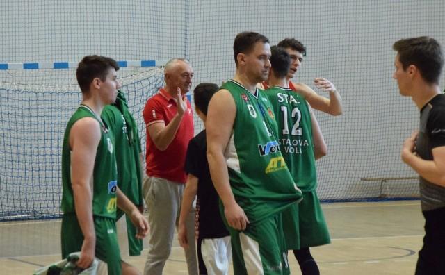 Koszykarze Stali Stalowa Wola przegrali w barażach o awans