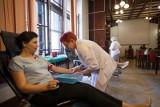 W budynku Poczty Polskiej przy ul. Jagiellońskiej 6 odbyła się zbiórka krwi [zdjęcia]