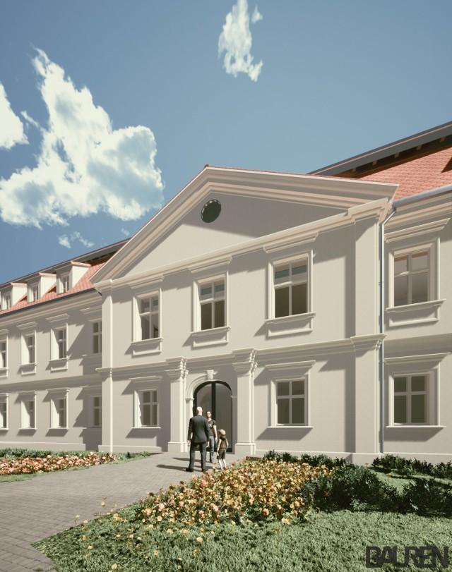 Trwa remont Pałacu Dietrichsteinów w Wodzisławiu Śl.Zobacz kolejne zdjęcia. Przesuwaj zdjęcia w prawo - naciśnij strzałkę lub przycisk NASTĘPNE
